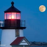 Moon at Brant Point_