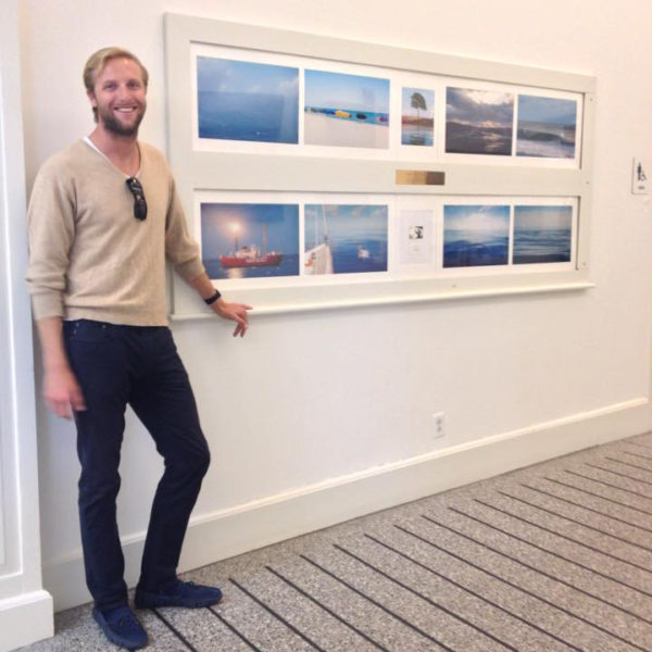 ACK airport photography display